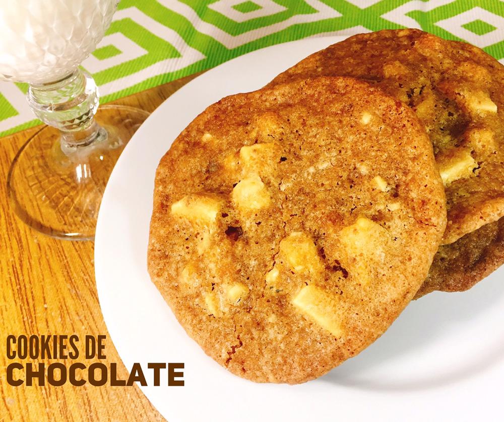Receitas da Margot Cookies de Chocolate