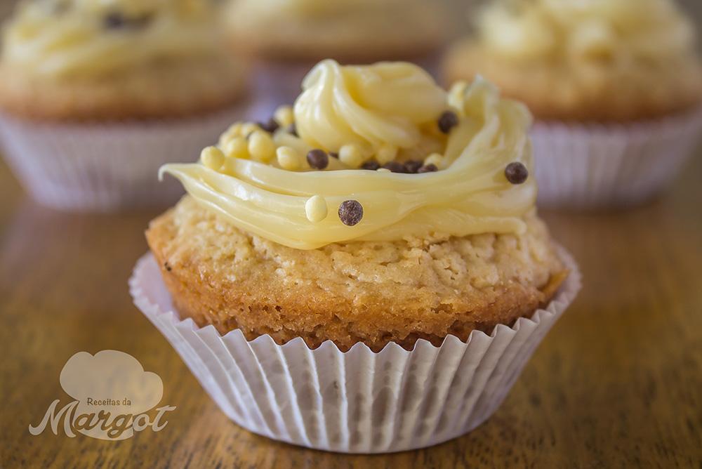 Cupcake de Brigadeiro Branco