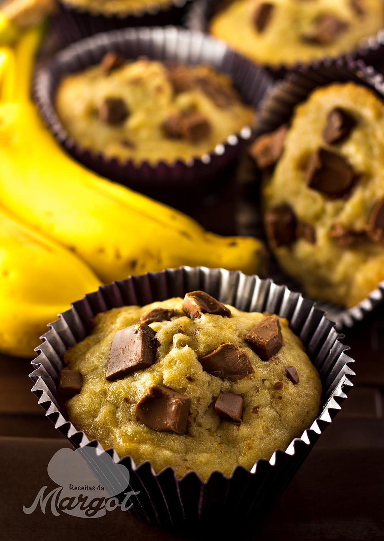 Receita Muffin de Banana