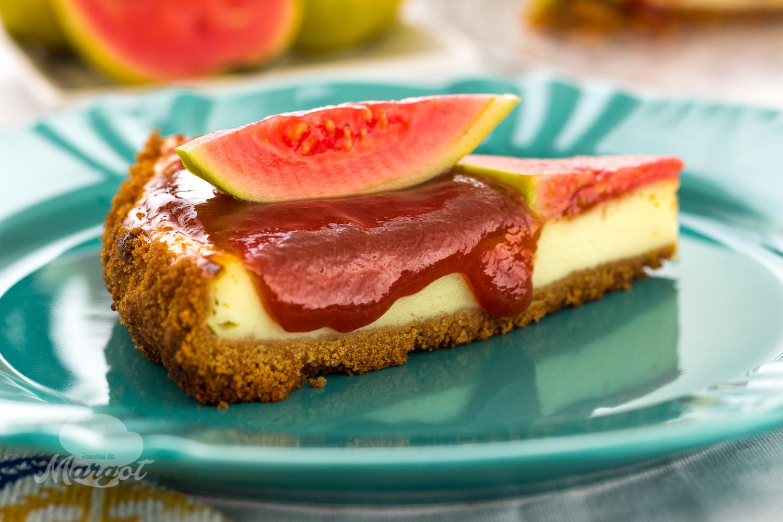 Receita Cheesecake de Goiabada