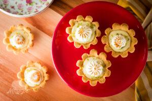 Receita Tortinha de Limão
